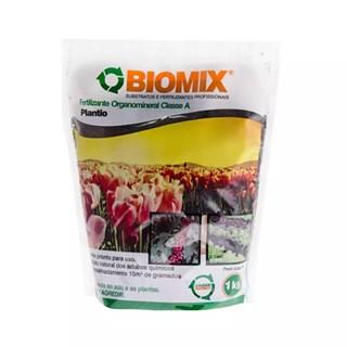 Fertilizante Biomix Plantio e Manutenção para Solos e Jardins