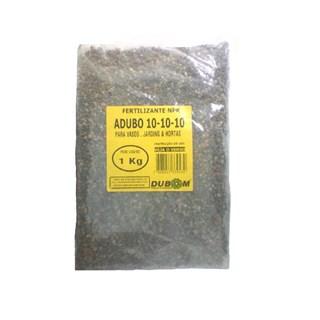 Fertilizante Dubom NPK Adubo 10-10-10 para Vasos. Jardins e Hortas