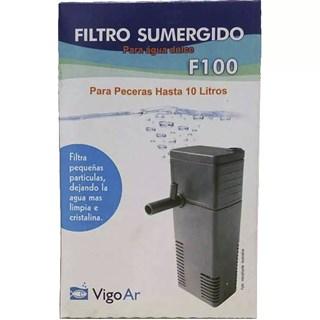 Filtro Vigo Ar Turbo Clear 110v Para Aquários