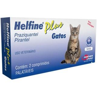 Helfine Plus Gatos ? 2 Comprimidos _ Agener