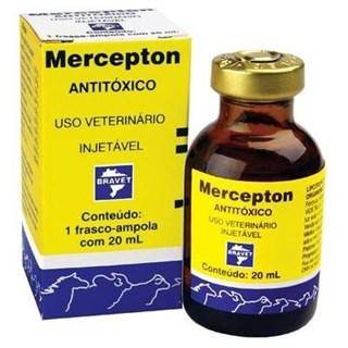 Hepatoprotetor Bravet Mercepton Para Cães. Gatos. Leitões. Potros. Bezerros. Caprinos. Bovinos. Equinos e Muares