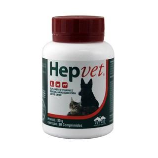 Hepvet 30 Comprimidos _ Vetnil