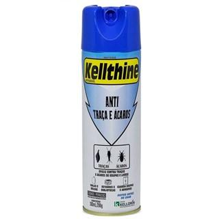 Inseticida Aerosol Kelldrin Kellthine Anti Traças e Ácaros para Ambientes