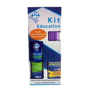 Kit Educador Sanitário Mundo Animal Good Pet Educativo Para Cães