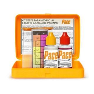 Kit Pace Teste Ph e Cloro Para Piscinas
