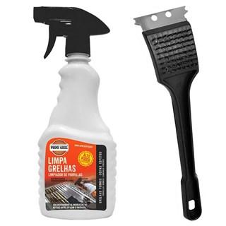 Kit Prime Grill Limpa Grelhas