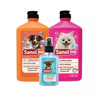 Kit Sanol Dog Shampoo
