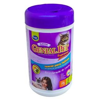 Lenço Umedecido Genial Pet Para Gatos