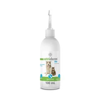 Limpador Auricular Bayer Vetriderm Oto para Cães e Gatos