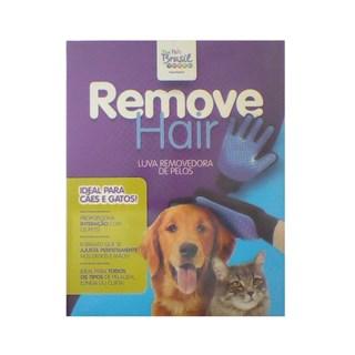 Luva Removedora de Pelos The Pets Brasil Remove Hair para Cães e Gatos