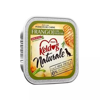 Patê Keldog Naturale Frango e Vegetais Para Cães