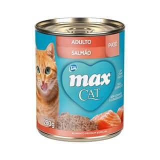 Patê Premium Total Max Cat Para Gatos Adultos Sabor Salmão