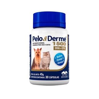 Pelo e Derme 750 C/60 Cápsulas _ Vetnil