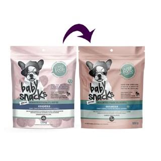 Petisco Biscoitos Pet Baby Snacks Sabor Cordeiro para Cães Filhotes