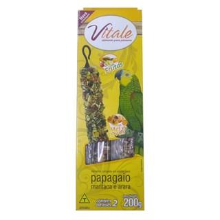Petisco Danreal Vitale Bastão com Frutas para Papagaios. Maritacas e Araras