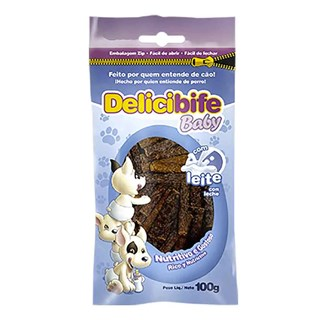 Petisco Deliciosso Delicibife Baby Para Cães Filhotes