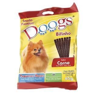 Petisco Doogs Bifinho Sabor Carne para Cães de Raças Pequenas