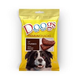 Petisco Doogs Bifinho Sabor Churrasco para Cães