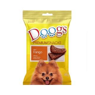 Petisco Doogs Bifinho Sabor Frango para Cães Adultos