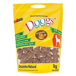 Petisco Doogs Ossinho Integral 3/4 para Cães