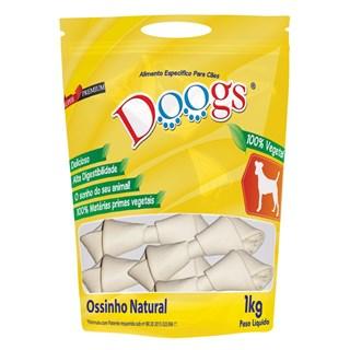 Petisco Doogs Ossinho Vegetal Natural 5/6 para Cães