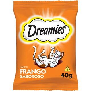 Petisco Dreamies Frango Para Gatos Adultos