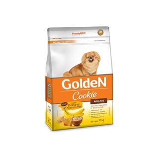 Petisco Golden Cookie Sabor Banana. Aveia e Mel Para Cães Adultos