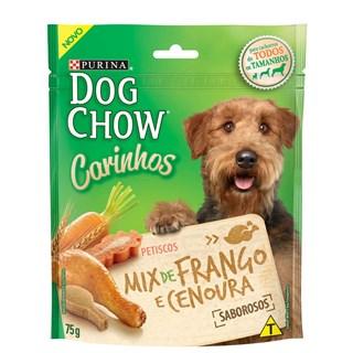 Petisco Nestlé Purina Dog Chow Carinhos Mix Frango e Cenoura para Cães Adultos