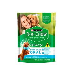 Petisco Nestlé Purina Dog Chow Oral Extra Life Cães Adultos Raças Minis e Pequenas