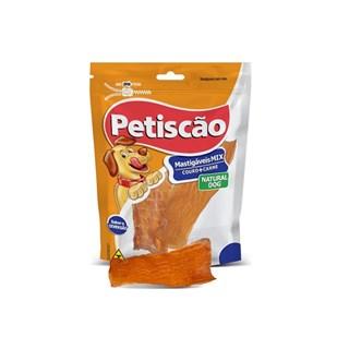 Petisco Petiscão Linha Natural Cervical Bovino para Cães
