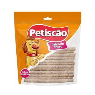 Petisco Petiscão Palito de Couro 6mm para Cães