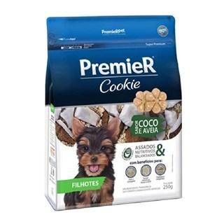 Petisco Premier Pet Cookie Sabor Coco e Aveia para Cães Filhotes