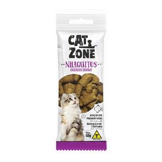 Petisco Procão Cat Zone Nhaquitos para Gatos