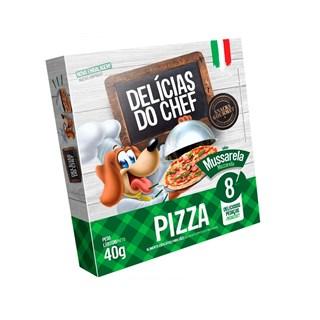 Petisco Snack Petitos Delicias do Chef Pizza de Mussarela para Cães