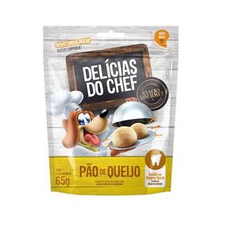 Petisco Snack Petitos Delicias do Chef Sabor Pão de Queijo para Cães