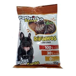 Petisco Snacks Palito Petbrilho Sabor Carne para Cães