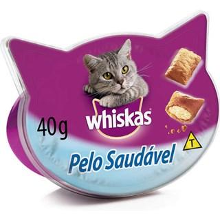 Petisco Whiskas Temptations Pelo Saudável Para Gatos
