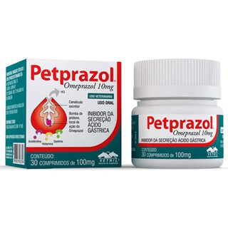 Petprazol 10 Mg C/30 Comprimidos _ Vetnil