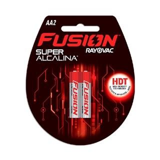 Pilha Rayovac Fusion Super Alcalina AA com 2 Unidades