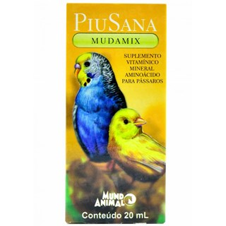 Piu Sana Mudamix ? 20ml _ Mundo Animal