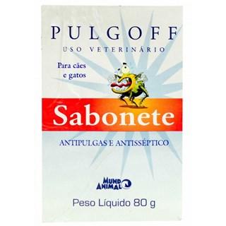 PULGOFF SABONETE EM BARRA ANTIPULGAS E ANTISSéPTICO CãES ? 80G _ MUNDO ANIMAL