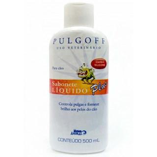 Pulgoff Sabonete Liquido Plus Cães ? 500ml _ Mundo Animal
