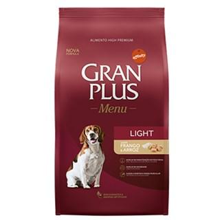 Ração Affinity PetCare GranPlus Menu Light Frango e Arroz para Cães Adultos