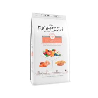 Ração Biofresh Mix de Carne. Frutas. Legumes e Ervas Frescas Cães Castrados de Raças Pequenas e Minis