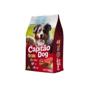 Ração Capitão Dog Sabor Carne Para Cães Adultos