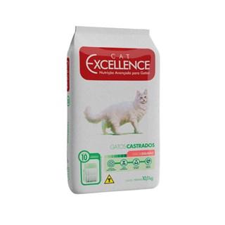 Ração Cat Excellence Sabor Salmão para Gatos Adultos Castrados