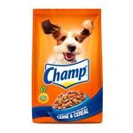Ração Champ Carne e Cereais para Cães Adultos