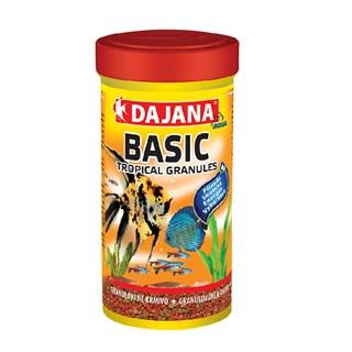 Ração Dajana Basic Tropical Granules Peixes de Água Doce
