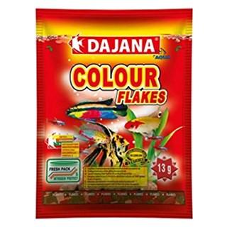 Ração Dajana Colour Flakes Peixes de Agua Doce