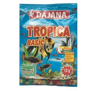 Ração Dajana Tropica Flake Para Peixes Ornamentais